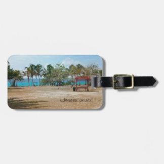 Playa Giron - playa - etiqueta del equipaje