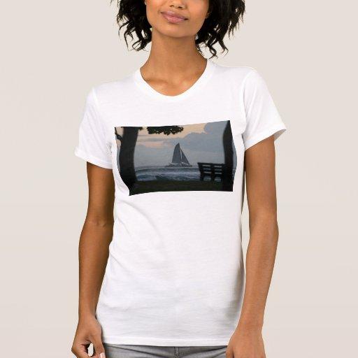 Playa Hawaii de Waikiki Camisetas