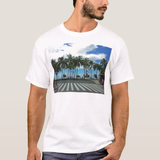 Playa Hawaii de Waikiki Camiseta