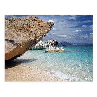 Playa mediterránea, postal de Cerdeña