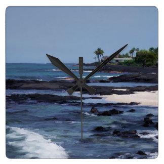 Playa Reloj Cuadrado
