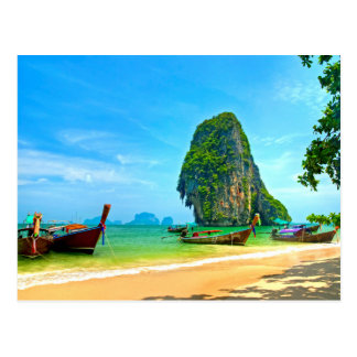 Playa Tailandia de Railay Postal