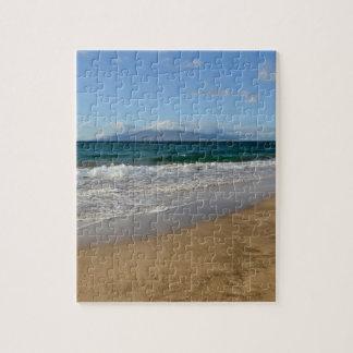 Playa tropical en Maui Hawaii Puzzle