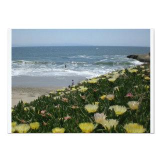 Playas de Santa Cruz Invitación 12,7 X 17,8 Cm