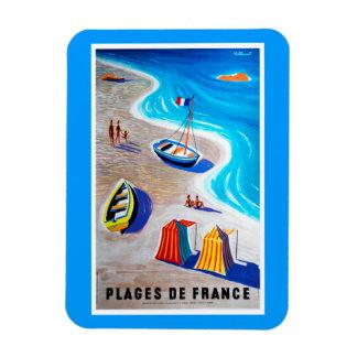 Playas del imán de Francia