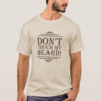 "playera beige ""Beard Pride """