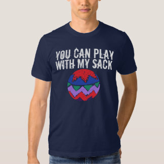 Playin con el saco camiseta