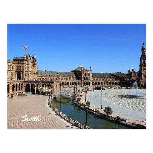 Plaza de España, Sevilla Postal