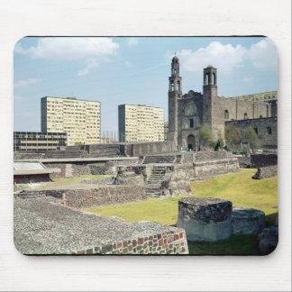 Plaza de las Tres Culturas 14to-vigésimo siglo Tapetes De Ratones