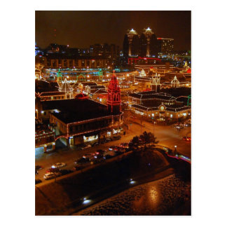 Plaza del club de campo, Kansas City, luces del Tarjetas Postales