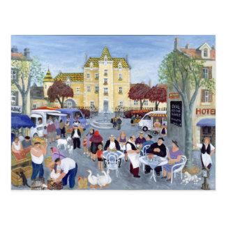 Plaza en Borgoña Postal