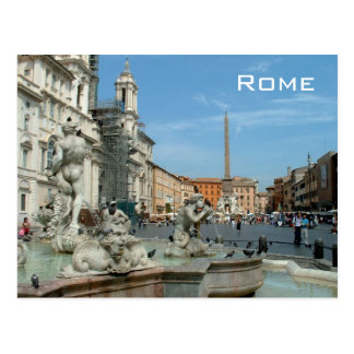Plaza Navona - Roma Postal