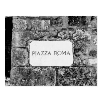 Plaza Roma Postal