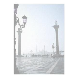 Plaza San Marco Venecia Italia Anuncio