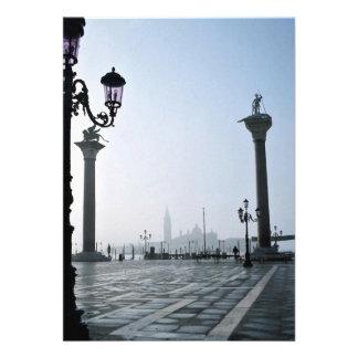 Plaza San Marco, Venecia, Italia Invitaciones Personales