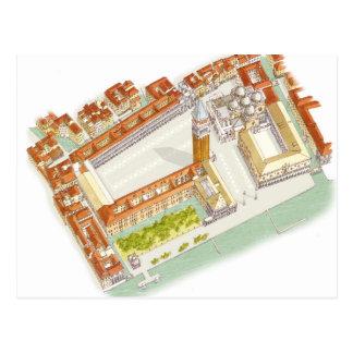 Plaza San Marco. Venecia Italia Postal