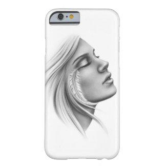 Pluma espiritual libre de sensación llamar por funda barely there iPhone 6