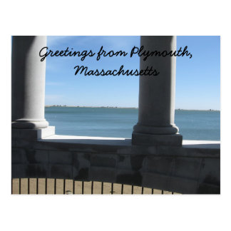 Plymouth mA., visión desde Plymouth Rock Postal