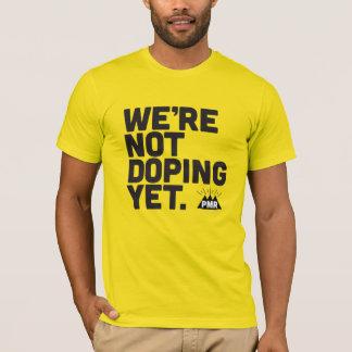 PMR no estamos dopando todavía la camiseta