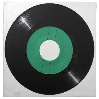 Png transparente del disco de vinilo servilleta de tela