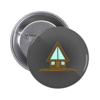 Poca cabina en el botón de maderas