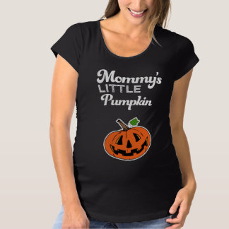 Poca camisa de Halloween de la calabaza de la mamá