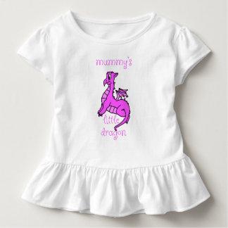 Poca camisa del bebé del dragón de la momia