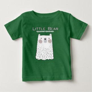 Poca camiseta de los animales del bosque del oso