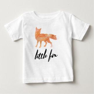Poca camiseta del bebé del Fox