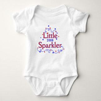Body Para Bebé Poca camiseta del Sparkler