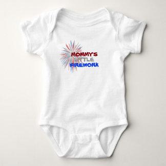Poca enredadera del niño del fuego artificial de body para bebé