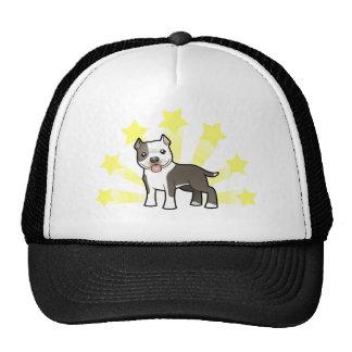 Poca estrella Pitbull/Staffordshire Terrier Gorros