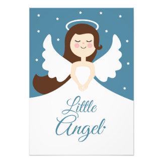 Poca impresión del cuarto de niños del ángel foto