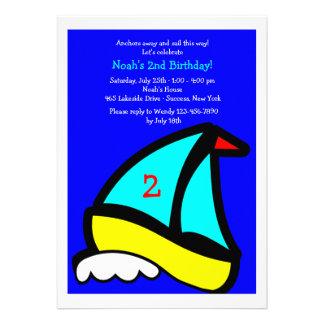 Poca invitación de la fiesta de cumpleaños del vel