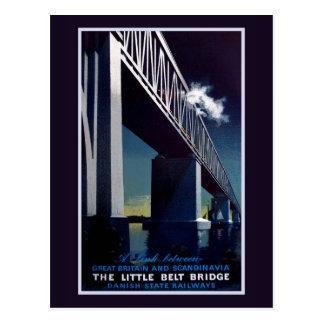 Poca postal del puente de la correa
