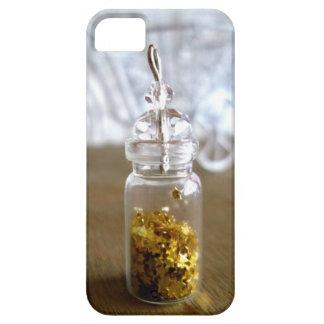 Poca suerte del oro protagoniza en una botella, iPhone 5 Case-Mate carcasas