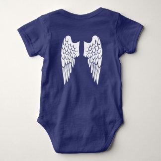 Pocas alas del ángel body para bebé