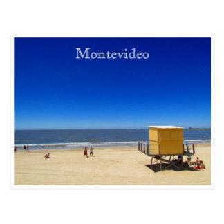 pocitos del playa de Montevideo Postal