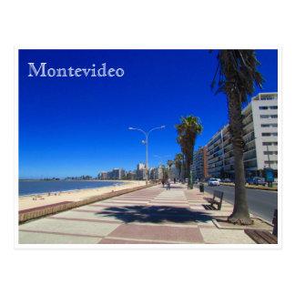 pocitos Rambla Montevideo Postal