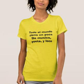 Poco de la O.N.U del tiene del mundo del EL de Camiseta