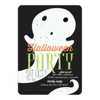 Poco fantasma Halloween Invitación 12,7 X 17,8 Cm