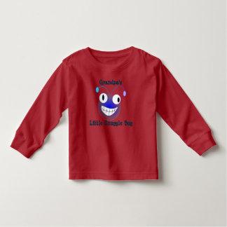 Poco insecto del Snuggle del abuelo Camiseta De Bebé