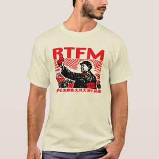 Poco libro rojo del RTFM Mao Camiseta