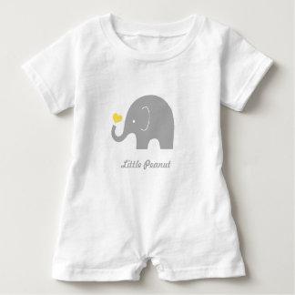 Poco mameluco del bebé del elefante del cacahuete,