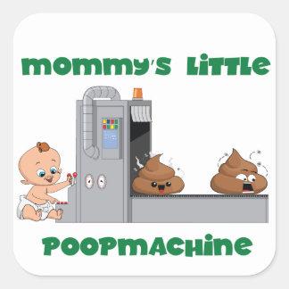 Poco pegatina del bebé de la máquina del impulso