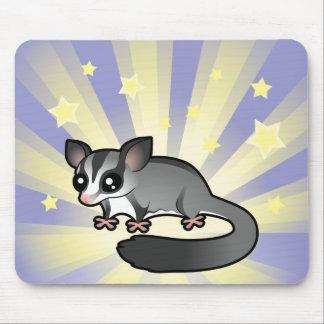 Poco planeador del azúcar de la estrella alfombrilla de raton