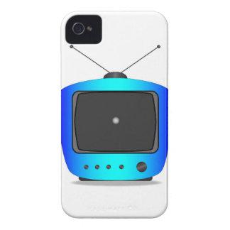 Poco punto blanco TV Funda Para iPhone 4 De Case-Mate