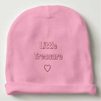 Poco tesoro - gorrita tejida del algodón del bebé gorrito para bebe