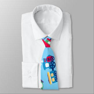 Poco transporte corbata personalizada