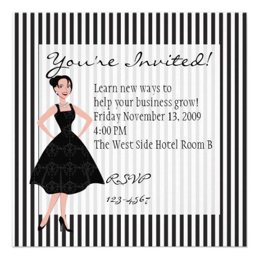 poco vestido negro anuncio personalizado